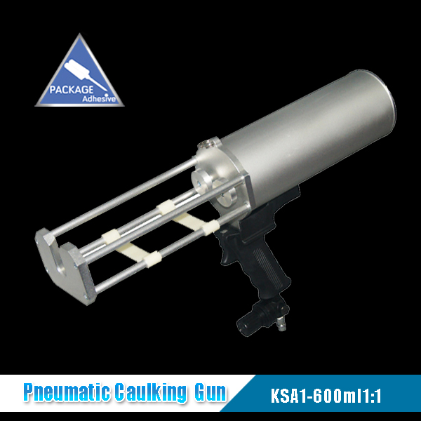 600ml 1:1 Dual Pneumatic Caulking Gun (KSA1-600ml1:1)