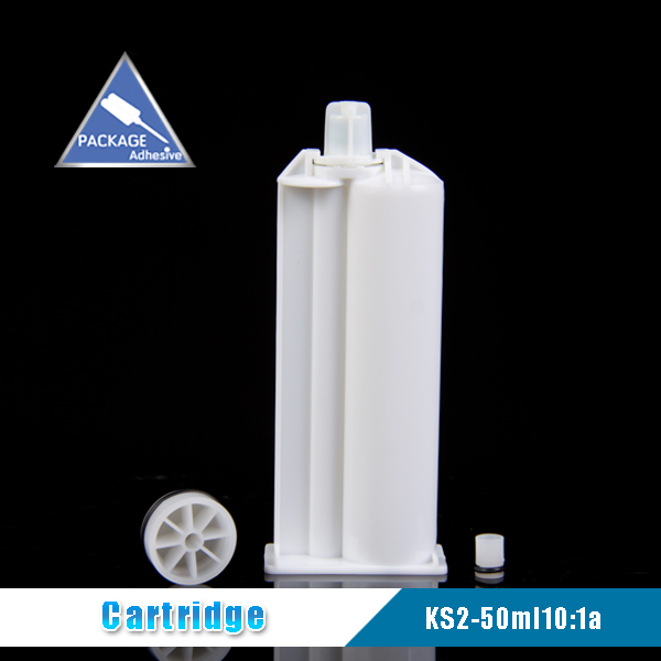 KS2-50ml10:1b PBT Adhesive Cartridge for AB Acrylic Adhesives in Marble & Solid